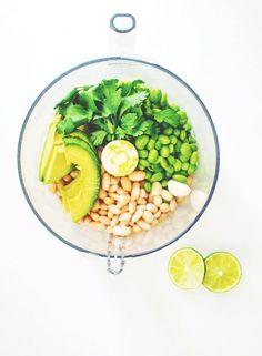 Hip Green Dip: with white beans, edamame and avocado {gluten-free, vegan}