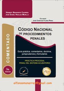 LIBROS EN DERECHO: CÓDIGO NACIONAL DE PROCEDIMIENTOS PENALES COMENTAD...