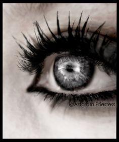 gray eyes | Grey eye by ~AstarothPriestess on deviantART