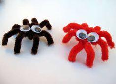 Tüylü Tel ile Sevimli Örümcek Yapımı - Canım Anne