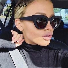 849044ff59 NICHOLAS Cat Eye Sunglasses Women Retro Women Sun glasses Female Lady  Eyewear Oculos De Sol Feminino