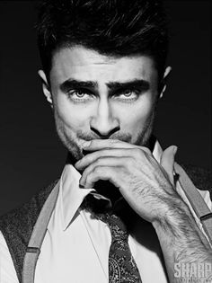Daniel Radcliffe, really??? I'm gonna need to see some id. Harry Potter could not have gone and gotten himself hit with the HOT SEXY stick!