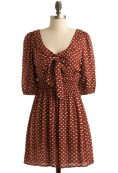 Polka dots!!!  Dear Lauren Conrad, make plus size clothes please. Because I would buy them.