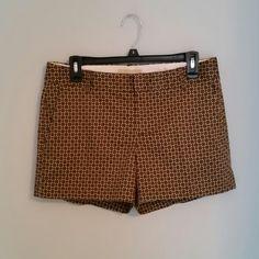 Banana Republic Shorts Only worn once Banana Republic shorts. Nice brown/tan pattern. Martin Fit. No damage! Like new! Banana Republic Shorts