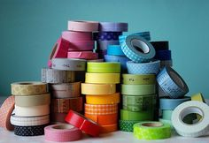 Top 10 Chic & Unique DIY Washi Tape Who knew masking tape could be so cool?!