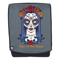 Day of the Dead, Sugar Skull Bride Backpack