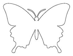 Resultado de imagen para butterflies templates