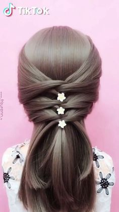 How To Make A Bow In Your Hair Follow This Making Hair Bows
