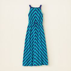 medium girl - dresses & rompers - chevron stripe maxi dress | Childrens Clothing | Kids Clothes | The Childrens Place