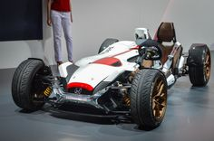 Honda blends the motorcycle and track car into the fittingly named Project 2&4