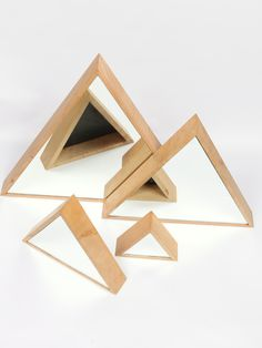 Triangle Mirrors by Marvin Freitas