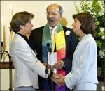 In 2004, Unitarian Universalists Hillary and Julie Goodridge became the first same-gender Americans to be legally married.