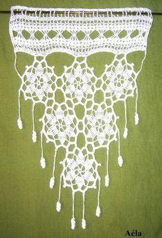 """Résultat de recherche d'images pour """"rideaux crochet modeles gratuits en francais"""""""