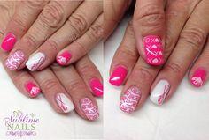 Nails by Sublime Nails~ www.sublimenails.ca #GelNails