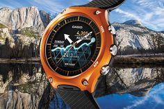 The Casio WSD-F10. The ideal wrist device for outdoor enthusiasts.