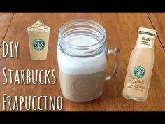 DIY Starbucks Frappucino | 3 Ingredients | EmilyOnline - YouTube