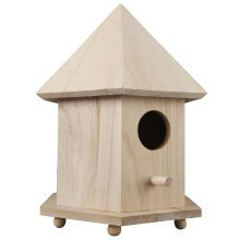 ArtMinds 6 Sided Birdhouse, Front View  Michaels - $4.99