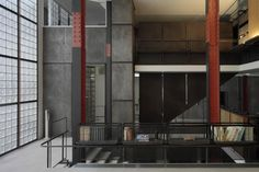 THE 1928 MAISON DE VERRE IN PARIS Pierre Chareau...one of the most famous architects, interior, and furniture designers of the Art Deco movement.