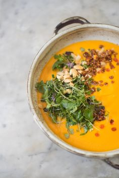 Simple Carrot Soup | 28 Delicious Things To Cook In February