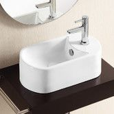 Found it at Wayfair - Caracalla Ceramica II Vessel Bathroom Sink