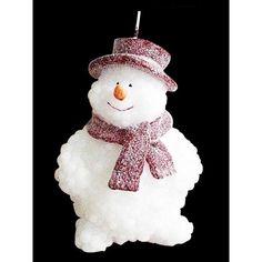 bougie bonhomme de neige - Recherche Google