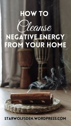 How do I cleanse my home from negative energy? I will share a few easy ways to get rid of bad energy so that you can begin to live stress free, relax, and manifest positive energy into your home. #spirituality #howtocleansebadenergy #ritualcleanse #cleansingforbeginners Spiritual Wellness, Spiritual Practices, Palo Santo Essential Oil, Witchcraft For Beginners, Cleanse Me, Spirituality Books, Diy Crystals, Practical Magic, Good Energy