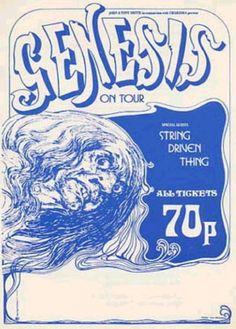 """45 anni fa, il 15 gennaio 1972, i Genesis iniziavano a """"colonizzare"""" i paesi oltre la Manica. www.horizonsradio.it"""