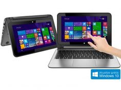 "Notebook 2 em 1 HP 11-n127br x360 Convertible - Pavilion Intel Core 4GB 500GB LED 11,6""Windows 8.1"