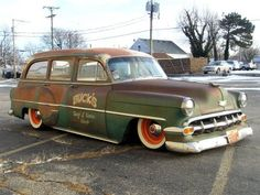 Looks like the ICON wagon, all the latest and greatest under a ratty skin...