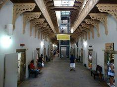 Interior da Casa da Cultura. Recife.