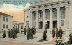 Redondo Beach CA Entrance Union High School