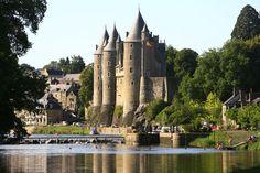 Turismo Josselin  - Visita / Visitar  castillo Bretaña