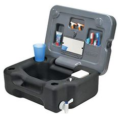 Reliance Wash 'N Go Compact Camp Sink and Organizer