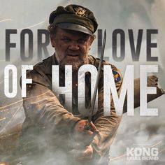 The fight to return home never stops. John C. Reilly is Lt. Hank Marlow in #kongskullisland, now playing in theaters everywhere – Get Tickets