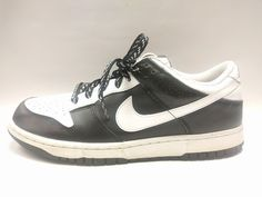 Nike Dunk Low Leather 2009 Black White 318019 101 Size 10 Nice! | Clothing, Shoes & Accessories, Men's Shoes, Athletic | eBay!