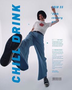 """🖇 on Twitter: """"cr chill drink 2018ss… """" Look Fashion, 90s Fashion, Fashion Outfits, Editing Pictures, Photo Editing, Mode Kpop, Pose Reference Photo, Human Poses, Wide Leg Denim"""