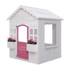 Kids Cubby House Wooden Outdoor Childrens Gift Pretend Play Set  Only AUD$360.36!   Home sweet home. And for your kids, it definitely is with our Keezi Wooden Cubby House. Built from sturdy Fir wood, this cottage playhouse is a great way for kids to learn about practical life and social skills. Besides all the fun of house pretend play, kids can also use it as their own little cubby place to develop friendships or work on creative projects. Everything about the playhouse is made child-safe: