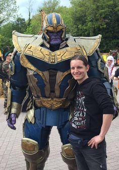 Thanos Mad Titan / Cosplay by Prizmatec - Visit to grab an amazing super hero shirt now on sale!