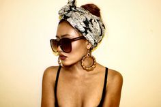 Wear Turbans and Headwraps as a Fashion Detail! Here is The Best 23 Ways of Wearing it ! | Female Fatal