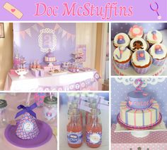 doc mcstuffins cupcake tower - Google Search