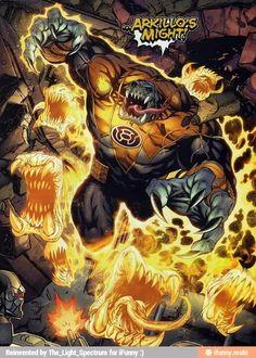 DC Comics - Sinestro Corps - Arkillo's Might