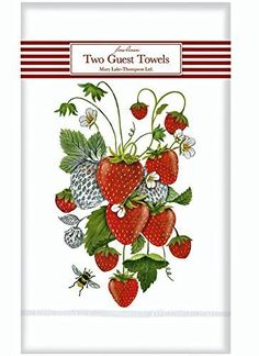 Cooksmart Sweet Treats Vintage Kitchen Tea Towels  Pack of 3 Soft 100/% Cotton