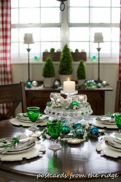Holiday Tablescape I