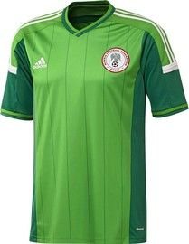 Nigeria 2014 FIFA World Cup Home Jersey, new in at Soccer Box http://www.soccerbox.com/11710