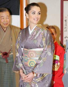 Queen Rania of Jordan in Japan