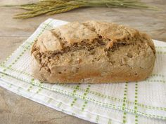 Spelt flour has more nutritional benefits than all-purpose white flour, and it also has a subtle nutty taste. Get tips for how to use spelt flour while baking. Spelt Recipes, Bread Maker Recipes, Artisan Bread Recipes, Baking Recipes, Flour Recipes, Sprouted Spelt Bread Recipe, Sourdough Recipes, German Recipes, Spelt Flour