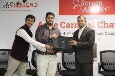 Mr. Sagar Sethiya , facilitating delicates at agile carnival