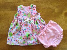 Premature Baby Dress Baby Panties Flower Dress by ShesSoPrecious