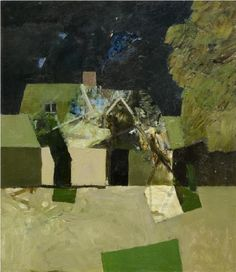 Keith Vaughan, Bulmer Tye, 1972 on ArtStack Painting Collage, Artist Painting, Small Paintings, Landscape Paintings, Collages, Weekend Cottages, Victoria Art, Manchester Art, Glasgow School Of Art