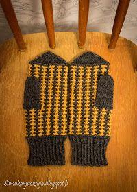 Silmukanjuoksuja: joulukuuta 2015 Knitted Hats, Gloves, Knitting, Fashion, Moda, Tricot, Fashion Styles, Breien, Stricken